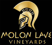 Molon Lave Vineyards Helmet logo